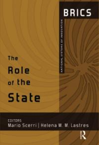 book cover The role of the state