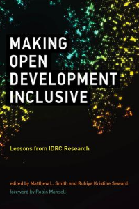 Coverature de Making Open Development Inclusive
