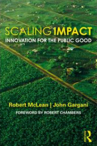Book cover:Scaling Impact: Innovation for the Public Good