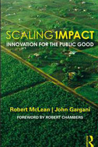 Book cover Scaling Impact: Innovation for the public good
