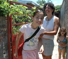 Urban agriculture provides a livelihood for Vilma Cala, a mother of four children.