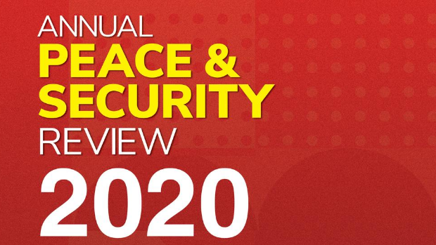 Cover of the Myanmar Institute for Peace and Security 2020 Annual Peace and Security Review