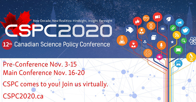 Canadian Science Policy Conference 2020
