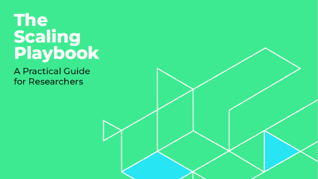 Cover of the Scaling Playbook
