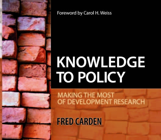 knowledge to policy cover image
