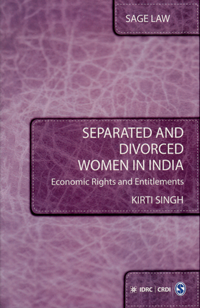 Book cover Separated and Divorced Women in India