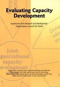 Book cover Evaluating Capacity Development: Experiences from Research and Development Organizations around the World