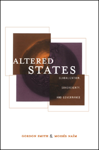 Book cover Altered States: Globalization, Sovereignty, and Governance
