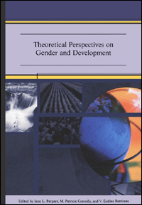 Couverture du livre Theoretical Perspectives on Gender and Development