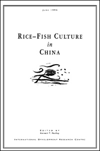 Book cover Rice-Fish Culture in China