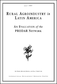 Rural Agroindustry in Latin America: An Evaluation of the