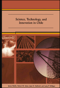 Couverture du livre Science, Technology, and Innovation in Chile
