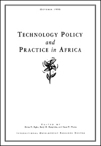 Couverture du livre Technological Policy and Practice in Africa