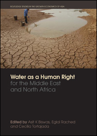 Couverture du livre Water as a Human Right for the Middle East and North Africa