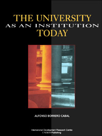Book cover The University as an Institution Today: Topics for Reflection