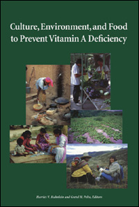 Couverture du livre Culture, Environment, and Food to Prevent Vitamin A Deficiency