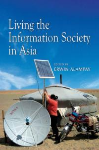 Couverture du livre Living the Information Society in Asia