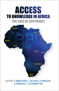 Book cover Access to Knowledge in Africa: The Role of Copyright