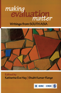 Couverture du livre Making Evaluation Matter