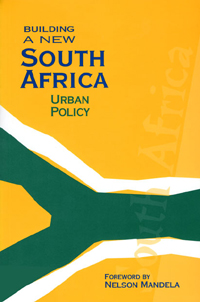 Couverture du livre Building a New South Africa Volume 2 : Urban Policy
