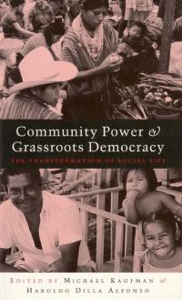 Couverture du livre Community Power and Grassroots Democracy