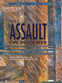 Book cover An Assault on Poverty: Basic Human Needs, Science, and Technology