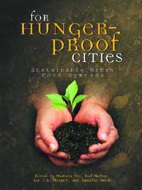 Book cover For Hunger-proof Cities: Sustainable Urban Food Systems