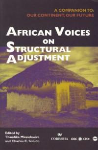 Book cover African Voices on Structural Adjustment: A Companion to Our Continent, Our Future