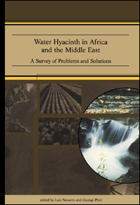 Couverture du livre Water Hyacinth in Africa and the Middle East: A Survey of Problems and Solutions