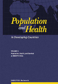 Book cover Population and Health in Developing Countries: Population, Health, and Survival at INDEPTH Sites