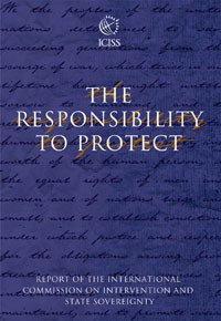 Book cover The Responsibility to Protect: Report of the International Commission on Intervention and State Sovereignty