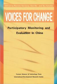 Couverture du livre Voices for Change: Participatory Monitoring and Evaluation in China