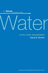 Book cover in_focus - Water: Local-level Management