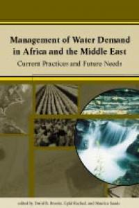 Couverture du livre Management of Water Demand in Africa and the Middle East : Current Practices and Future Needs