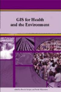 Couverture du livre GIS for Health and the Environment