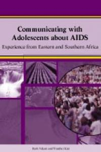 Couverture du livre Communicating with Adolescents about AIDS : Experience from Eastern and Southern Africa
