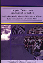 Book cover Languages of Instruction: Policy Implications for Education in Africa