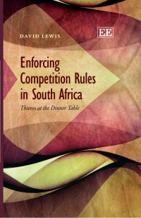 Couverture du livre Enforcing Competition Rules in South Africa