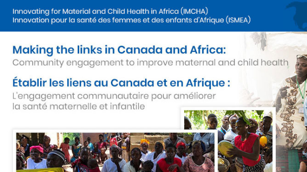 Event announcement: Making the links in Canada and Africa.
