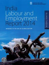 Couverture du livre India Labour and Employment Report 2014