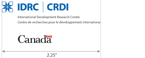 IDRC Logo - vertical layout with full name