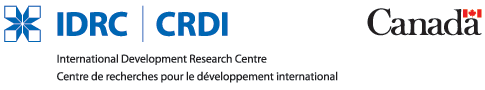 IDRC logo - horizontal layout with full name