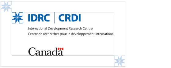 IDRC Logo - Minimun space required in vertical layout