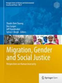 Couverture du livre Migration, Gender and Social Justice