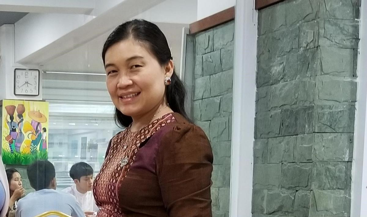 May Sabe Phyu, director of the Gender Equality Network.