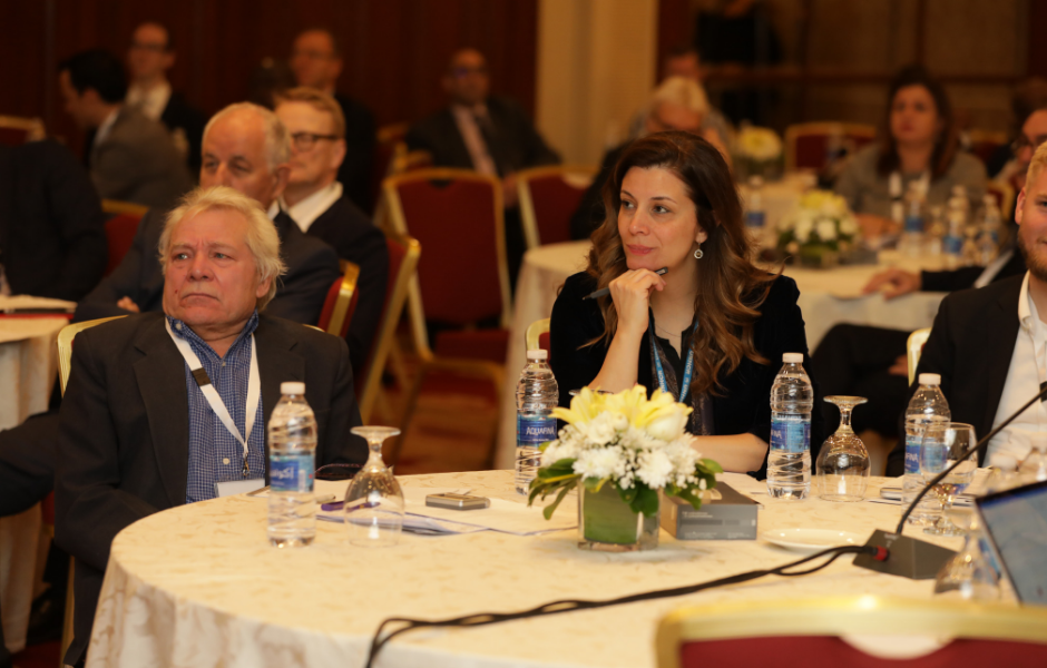 Participants at the IDRC co-hosted conference in Amman.