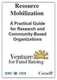 Book cover Research Mobilization: A Practical Guide for Research and Community-Based Organizations