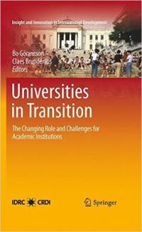 Book cover Universities in Transition: The Changing Role and Challenges for Academic Institutions
