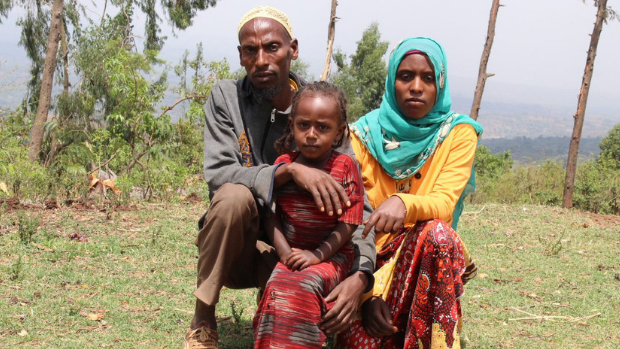 A family in Jimma, Ethiopia