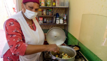 María de los Ángeles is a domestic worker who lost her job during the pandemic.
